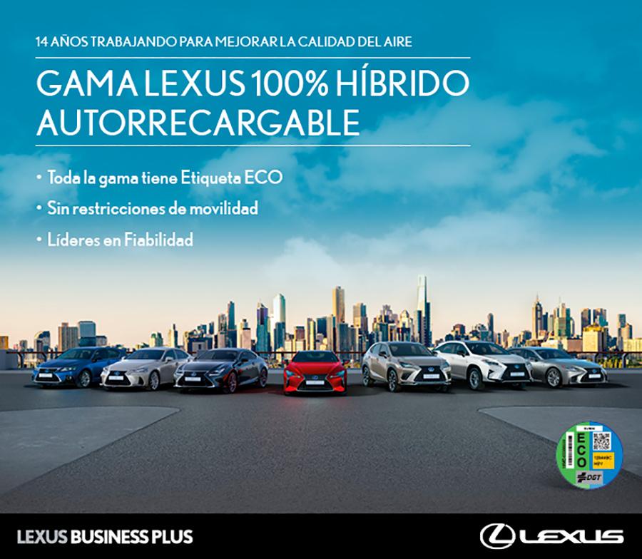lexus 100% híbrido hoy – asociación española de renting de vehículos